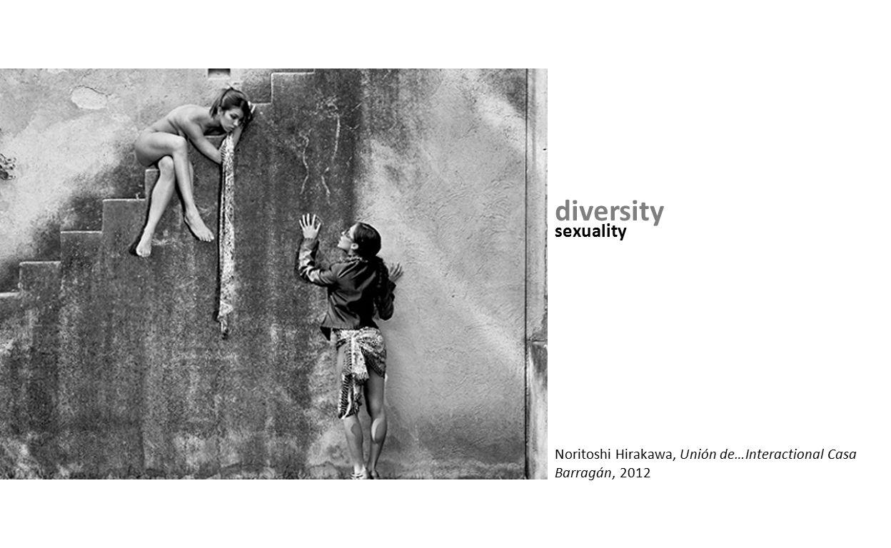 diversity sexuality Noritoshi Hirakawa, Unión de…Interactional Casa Barragán, 2012