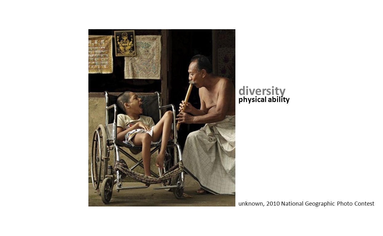 diversity physical ability unknown, 2010 National Geographic Photo Contest