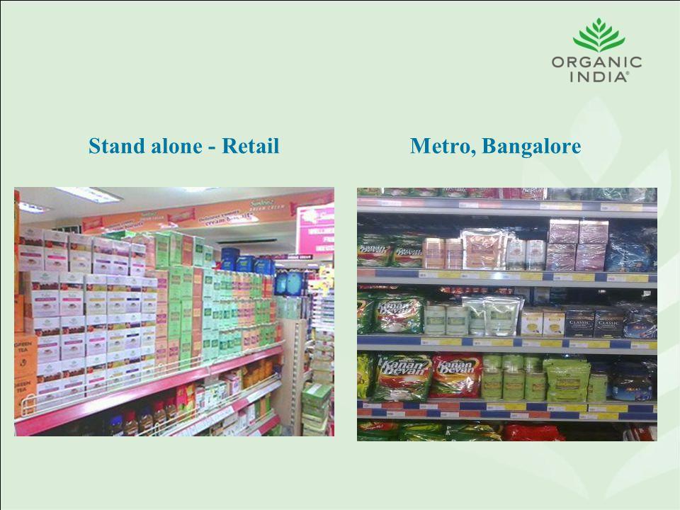 Stand alone - RetailMetro, Bangalore