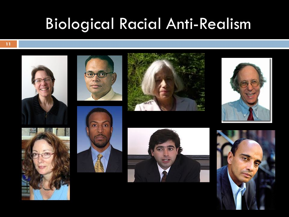 Biological Racial Anti-Realism 11