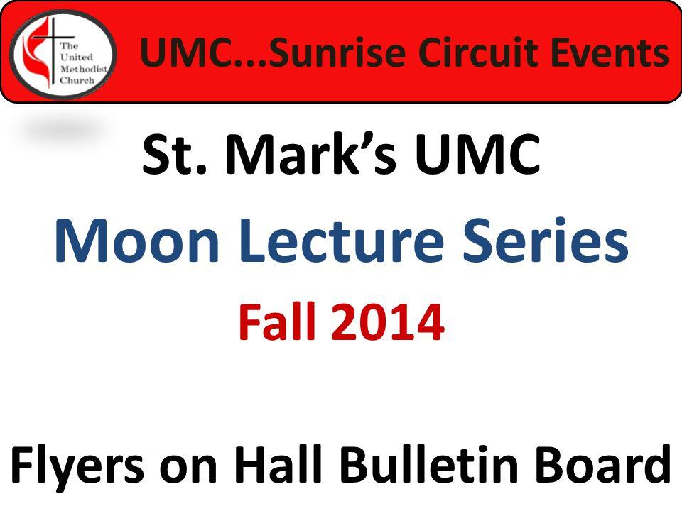 UMC...Sunrise Circuit Events St.