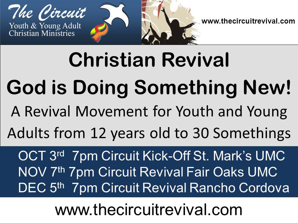 Christian Revival God is Doing Something New.