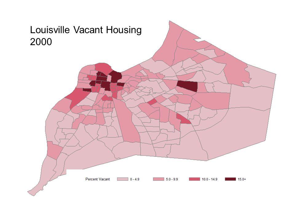 Louisville Vacant Housing 2000