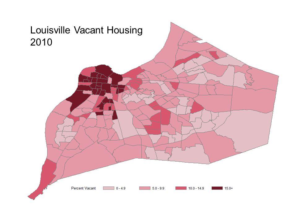 Louisville Vacant Housing 2010
