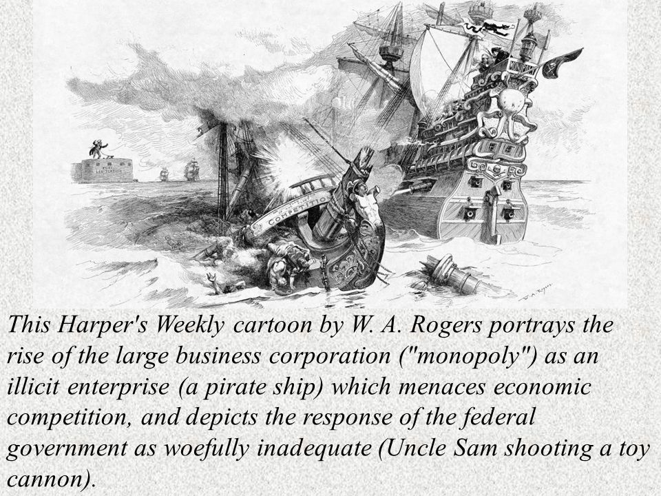 This Harper s Weekly cartoon by W. A.