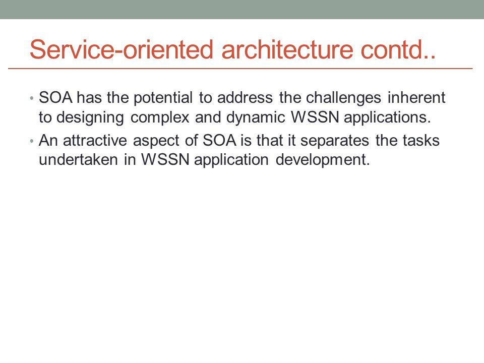 Service-oriented architecture contd..