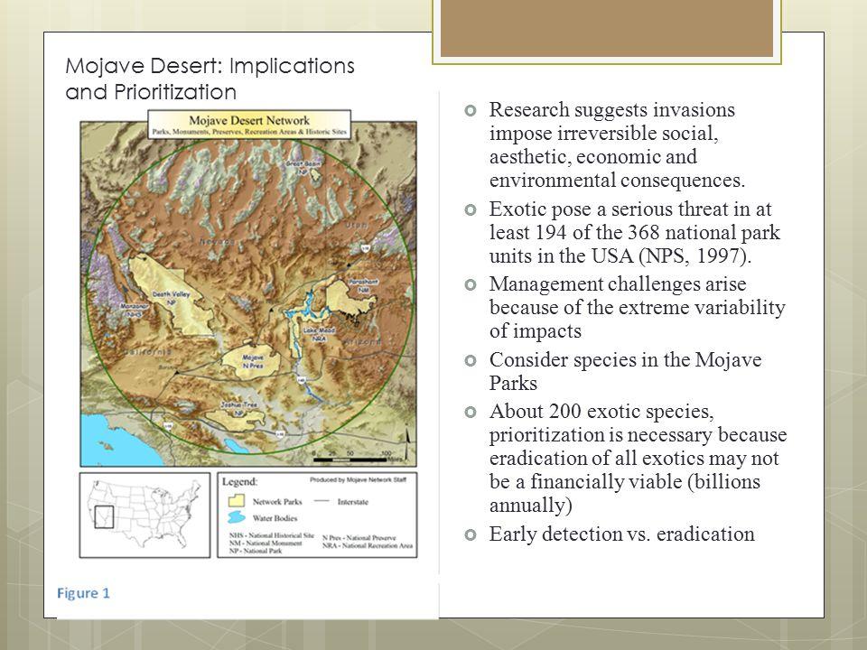 Figure 1 Figure 3 Invasive Plant Species in Mojave Parks