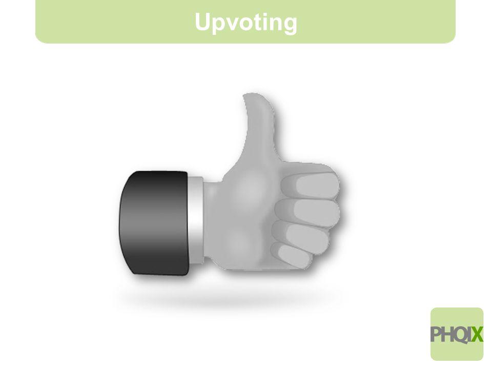 4 Upvoting