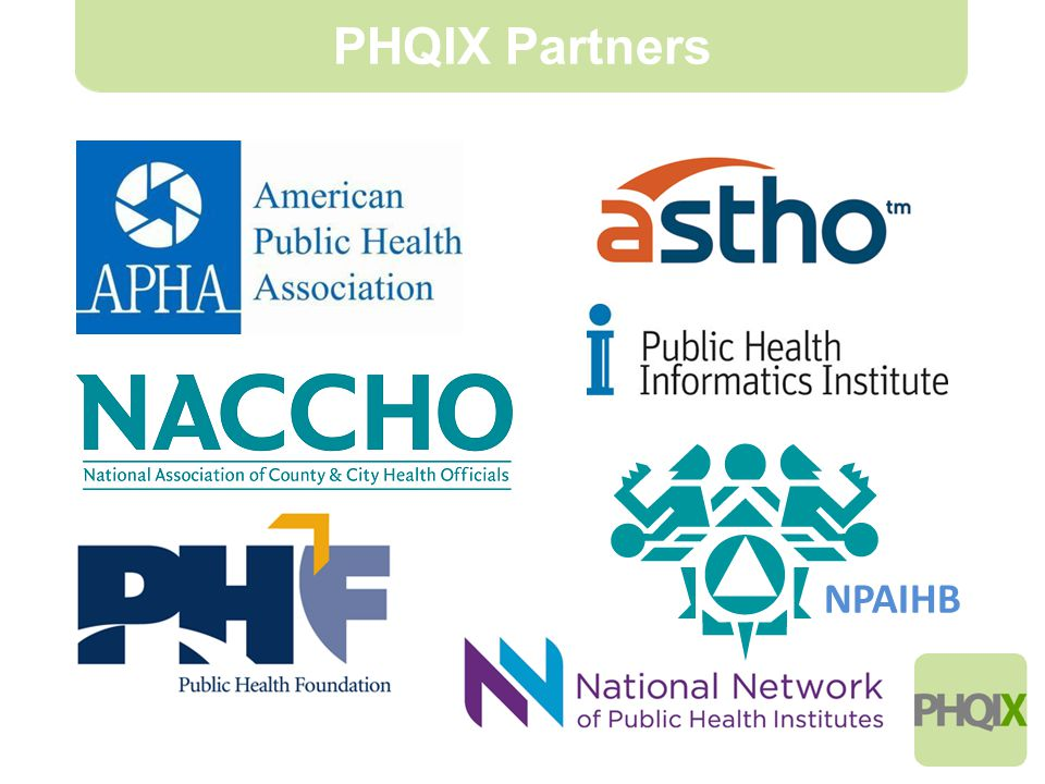 8 PHQIX Partners NPAIHB