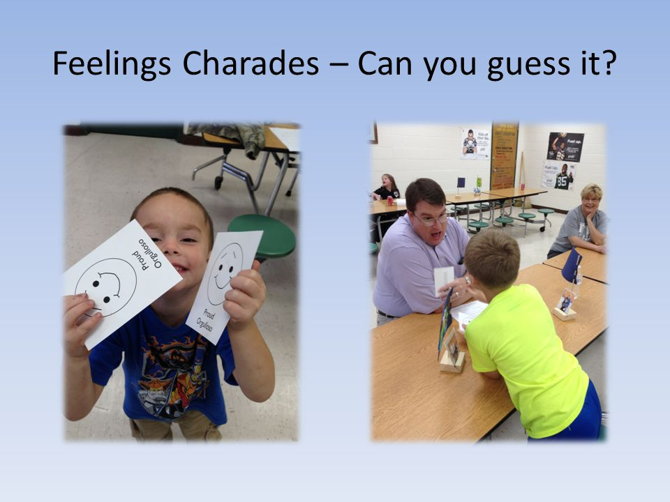 Feelings Charades – Can you guess it
