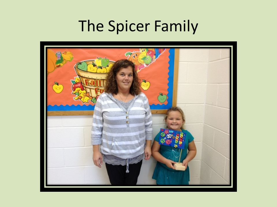 The Spicer Family