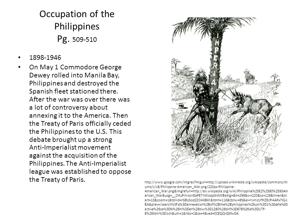 Occupation of the Philippines Pg.