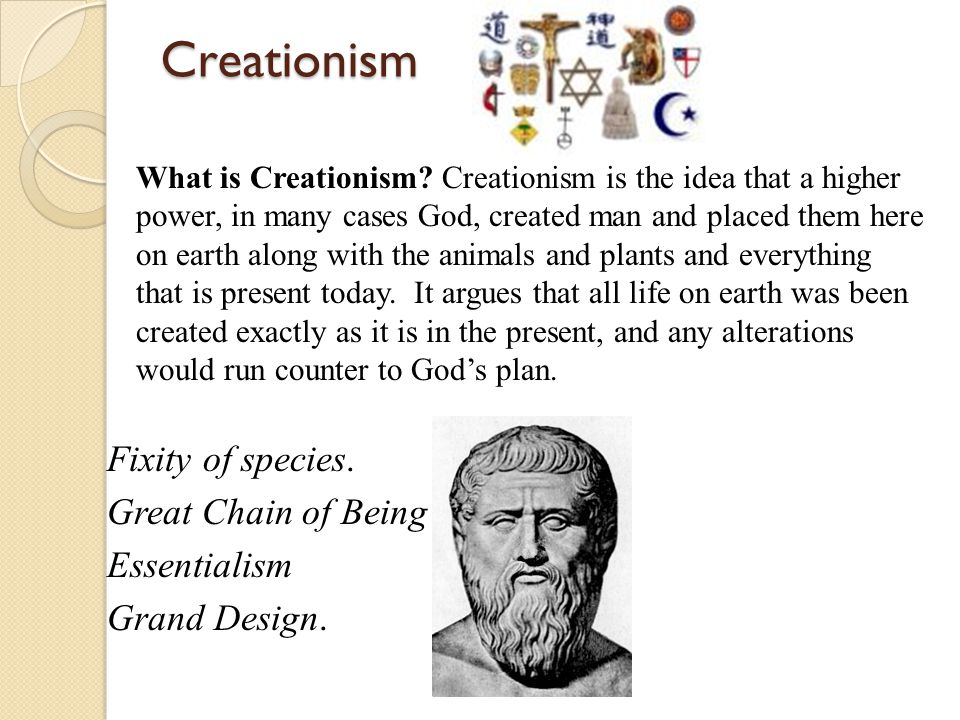 Creationism What is Creationism.