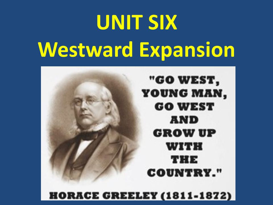UNIT ESSENTIAL QUESTION In what ways did westward expansion bring both growth and conflict to the United States?