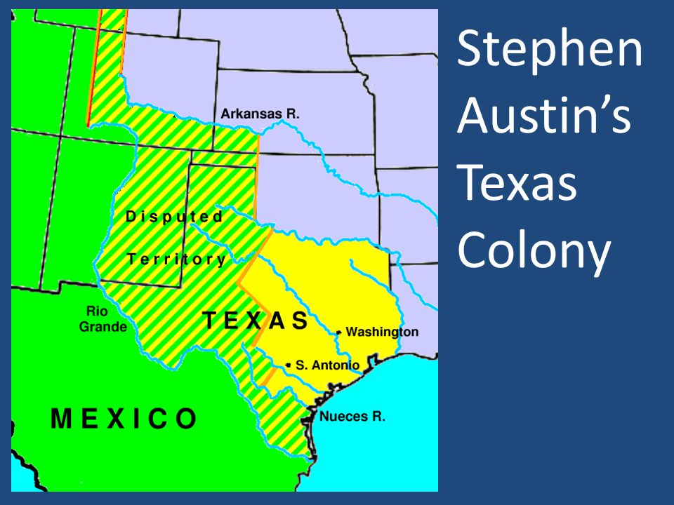 Stephen Austin's Texas Colony