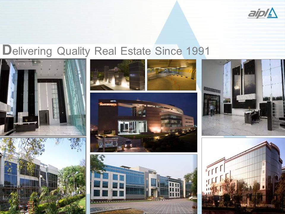 D elivering Quality Real Estate Since 1991