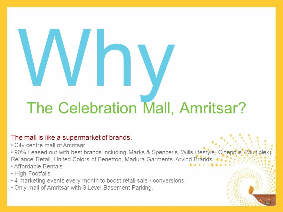 Our proud retailers…… Cinepolis is pleased to partner with a prominent Mall developer like AIPL.