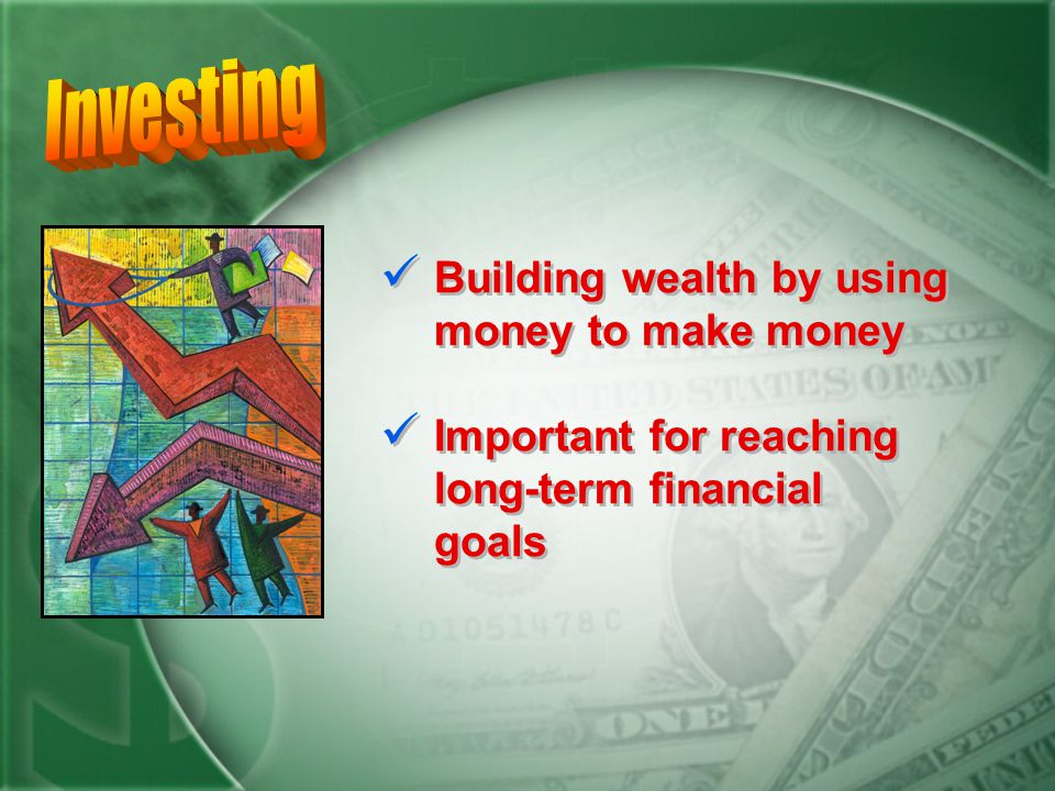 Savings accounts earn a small amount of interest. Not the best way to make money or create wealth