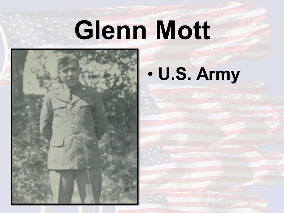 Glenn Mott U.S. Army