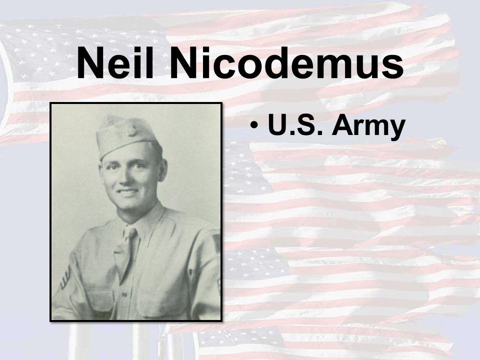 Neil Nicodemus U.S. Army