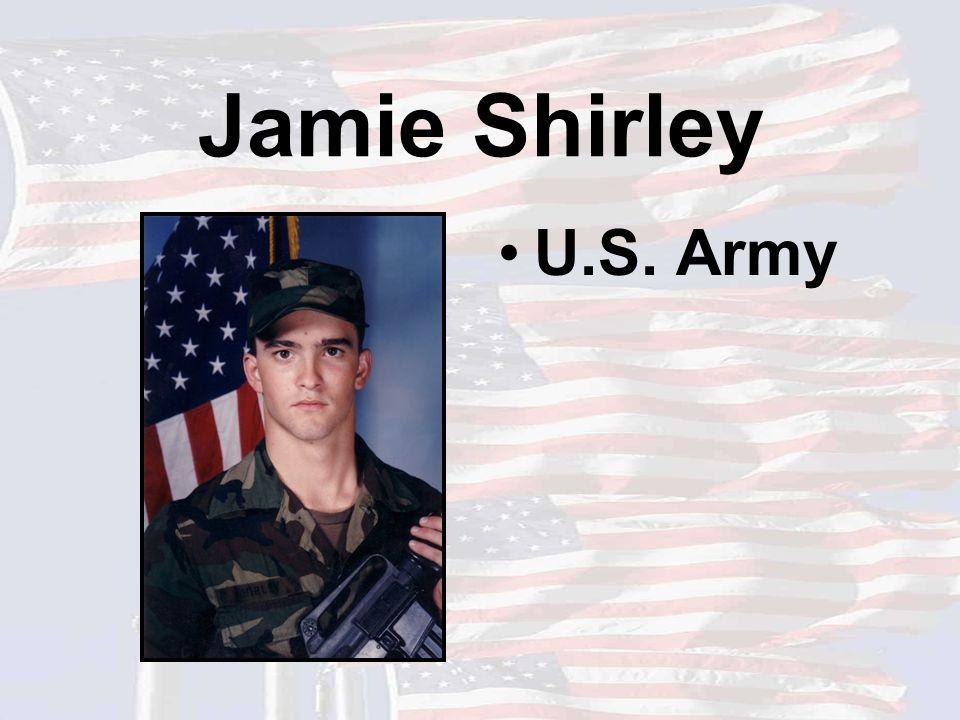 Jamie Shirley U.S. Army