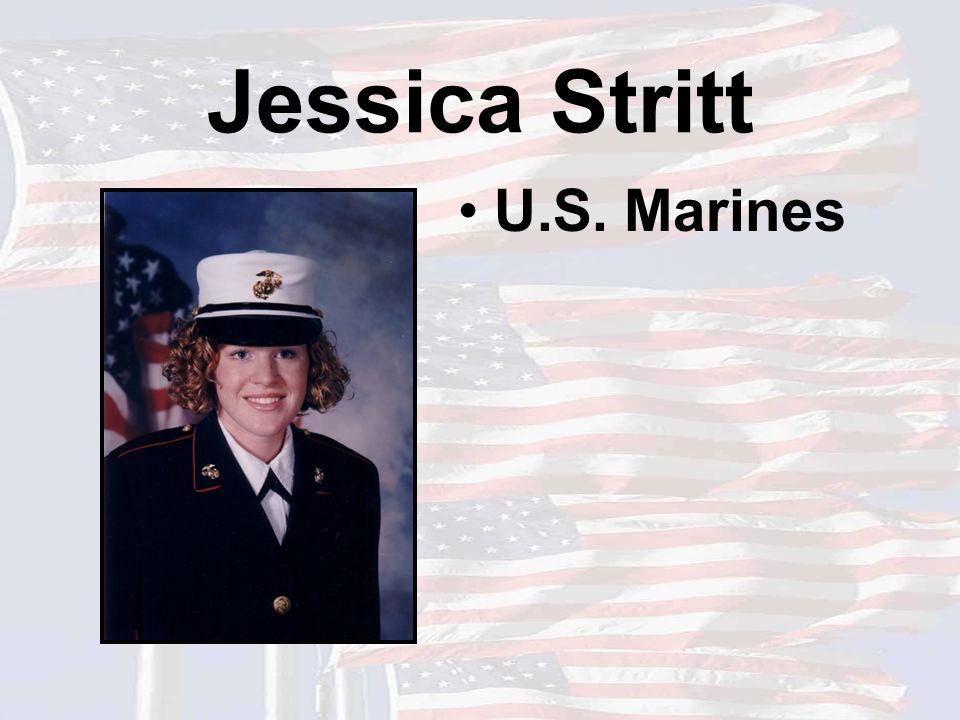 Jessica Stritt U.S. Marines
