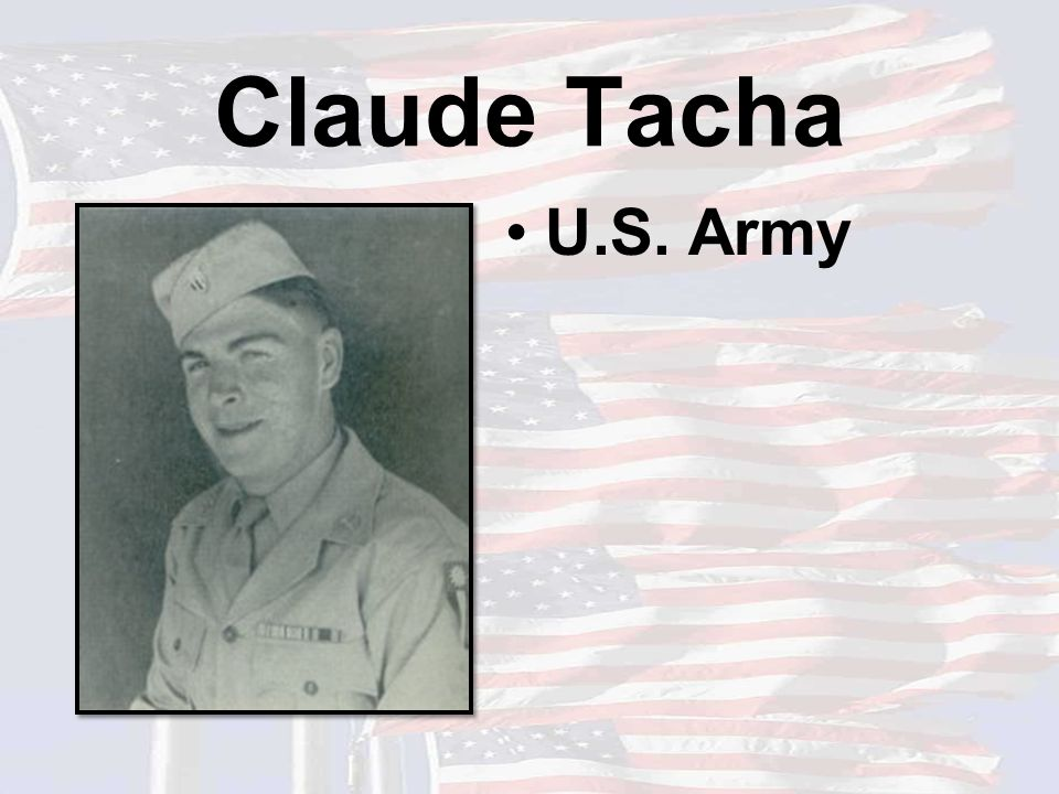 Claude Tacha U.S. Army