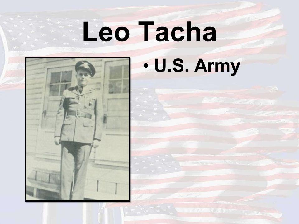 Leo Tacha U.S. Army