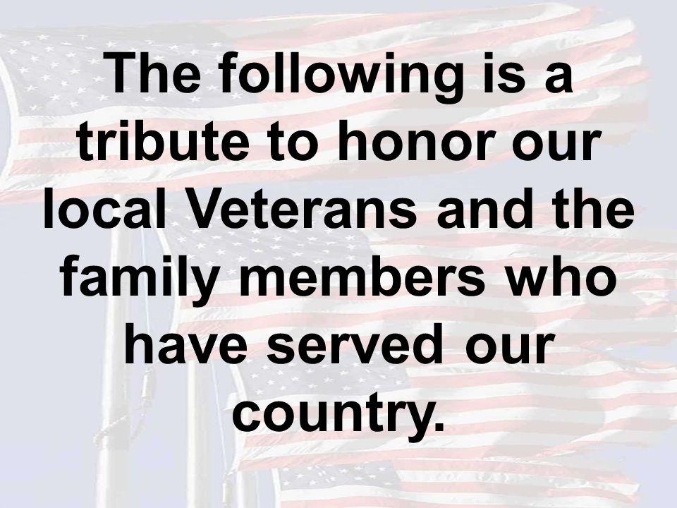 Gary Allen U.S. Army