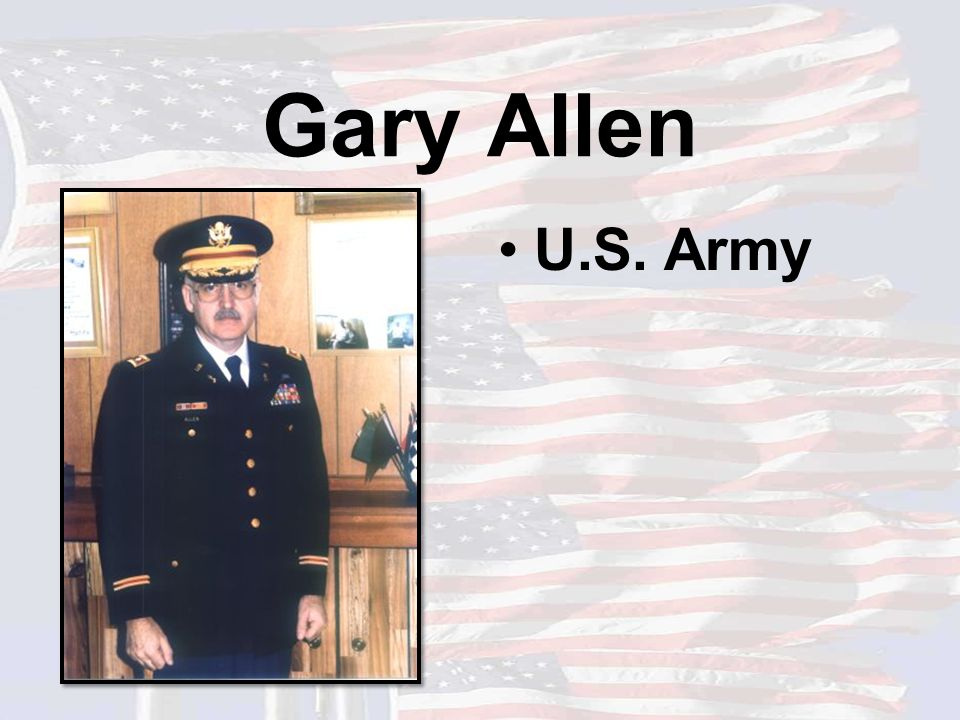 Eldon Anderson U.S. Army Father-in-law of Maureen Anderson