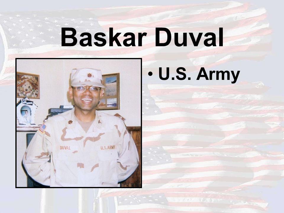 Baskar Duval U.S. Army