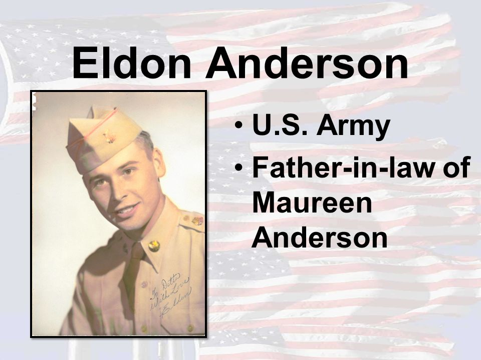 Bill Keck U.S. Army Grandfather of Angie Erickson and Great Grandfather of Tabor & Rayne Erickson
