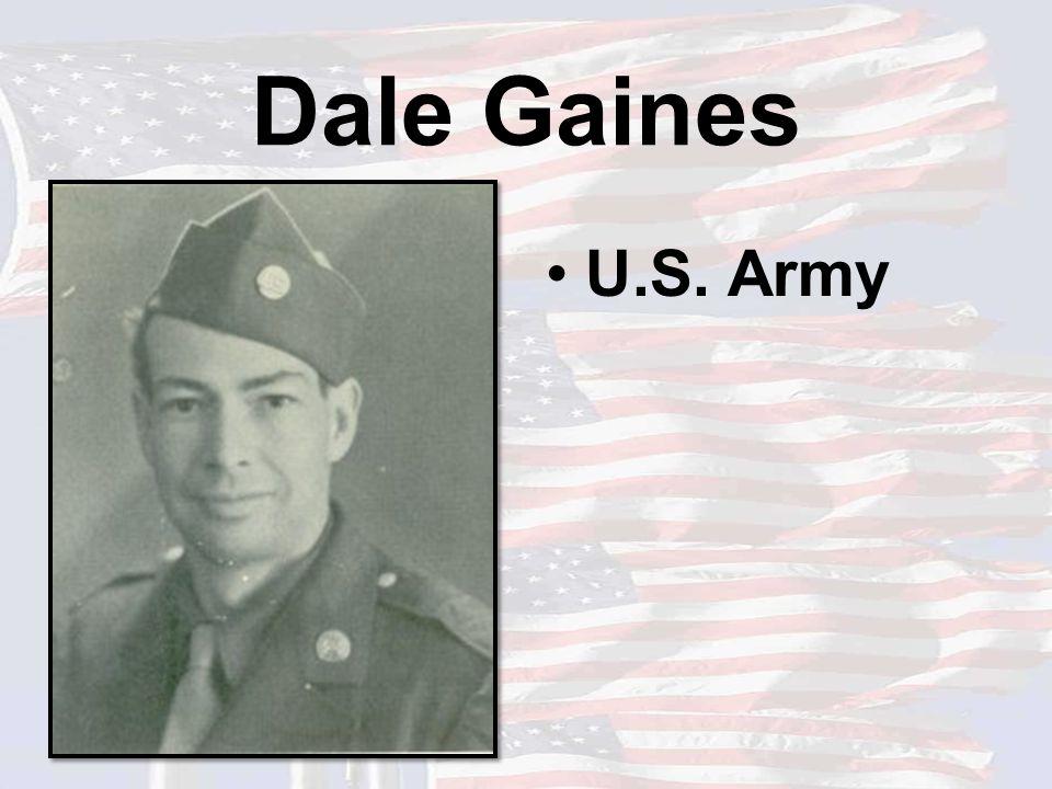 Dale Gaines U.S. Army