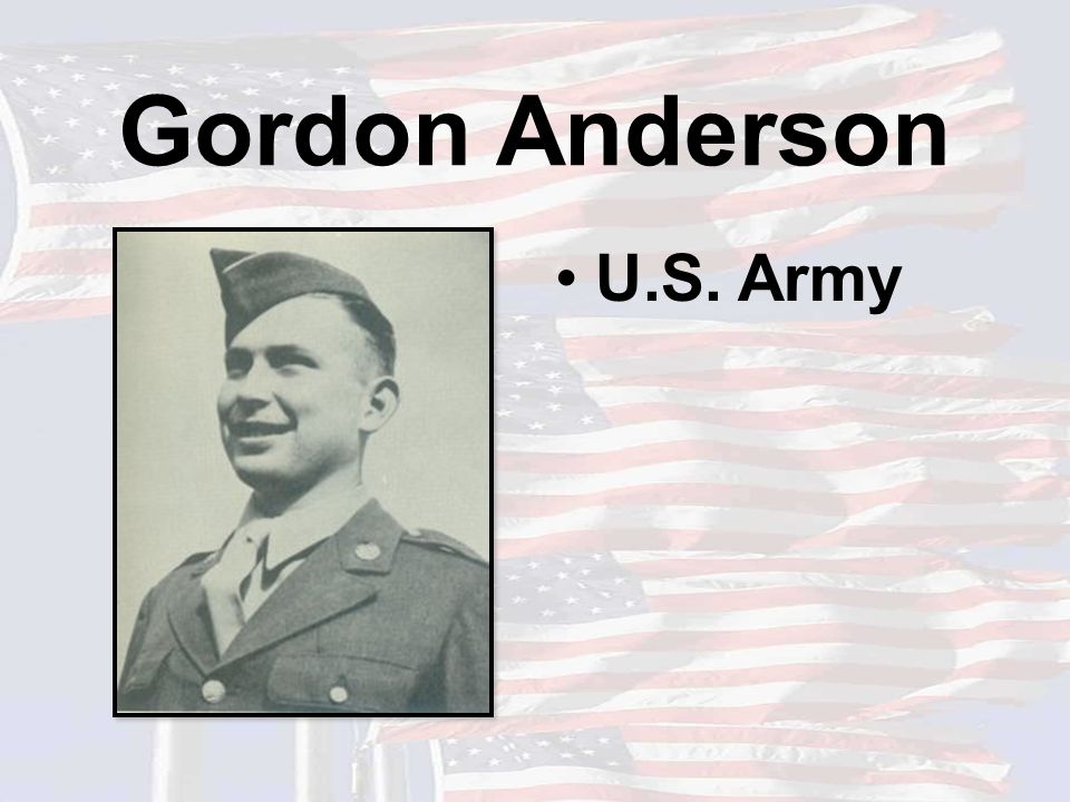 David Larson U.S. Army Father of Emily Larson