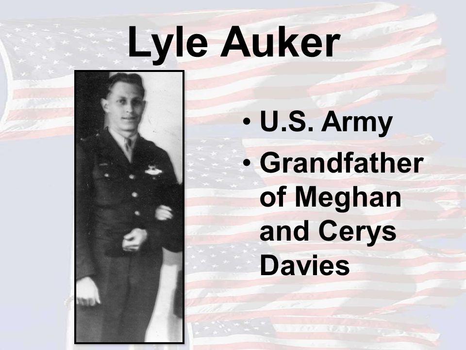Myron Scott U.S. Army Grandfather of Gage Scott