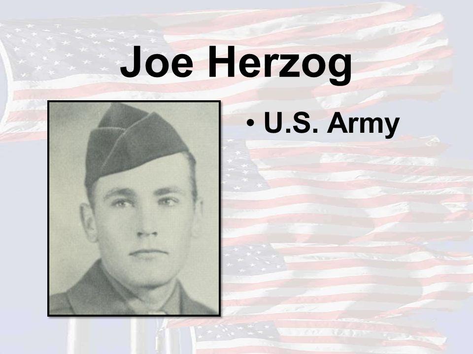 Joe Herzog U.S. Army