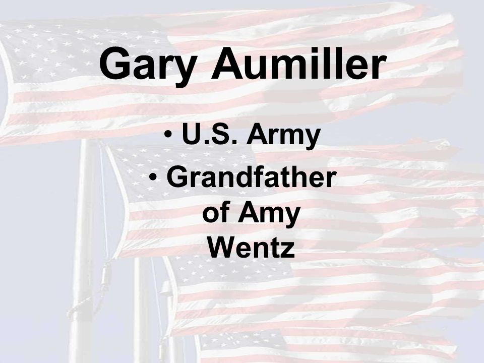 Don Ray U.S. Army Reserves Father of Jessup and Adric Ray