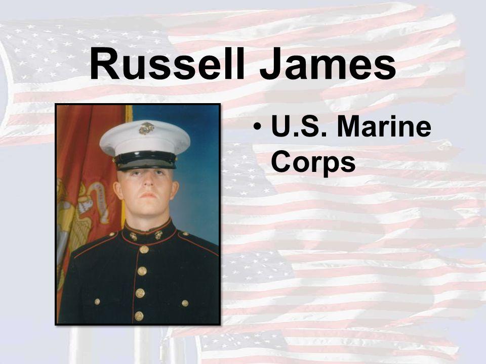 Russell James U.S. Marine Corps