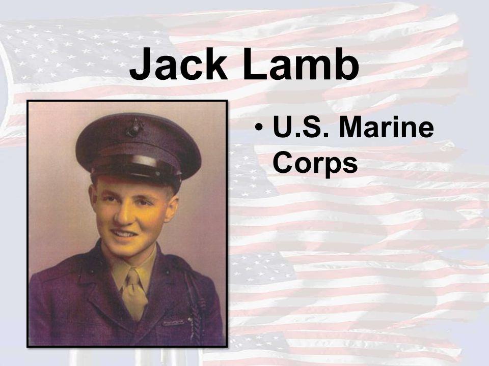 Jack Lamb U.S. Marine Corps