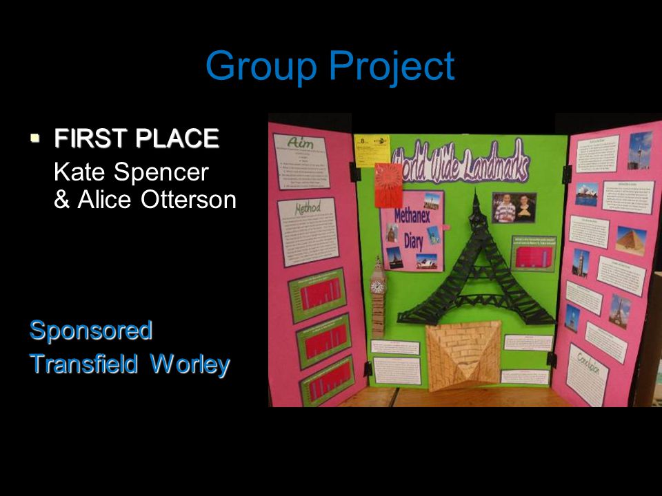 Group Project  FIRST PLACE Kate Spencer & Alice OttersonSponsored Transfield Worley