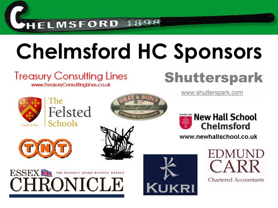Chelmsford HC Sponsors