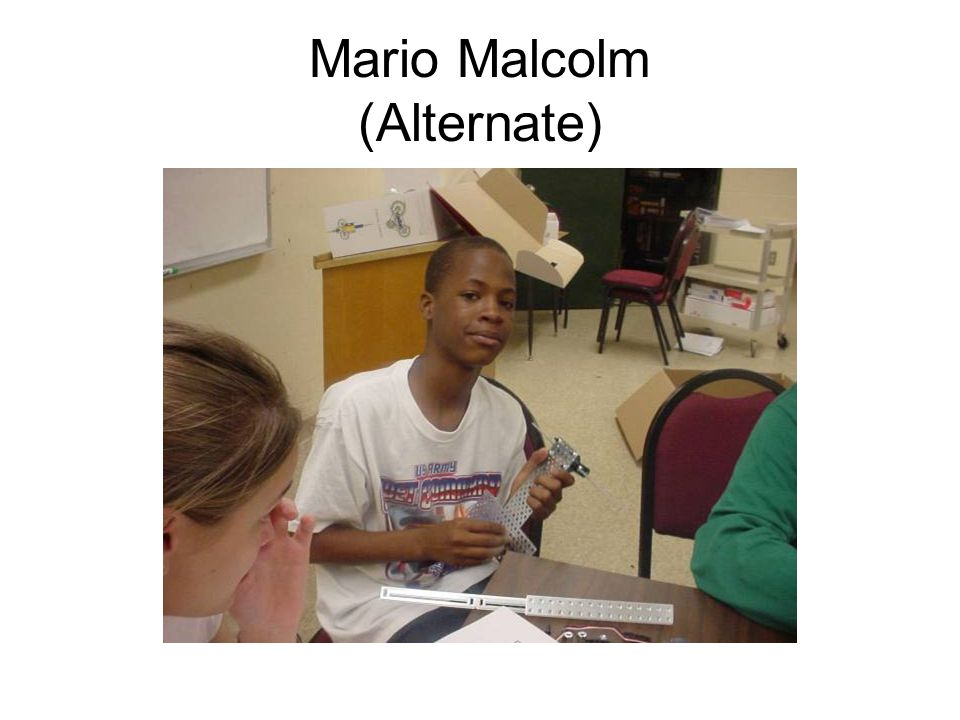 Mario Malcolm (Alternate)