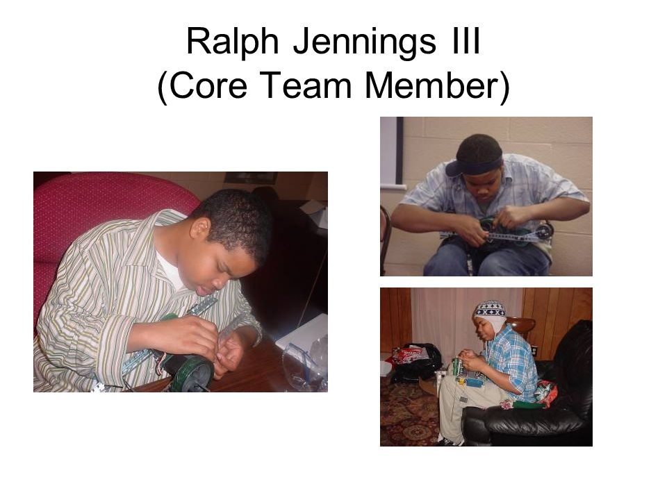 Ralph Jennings III (Core Team Member)