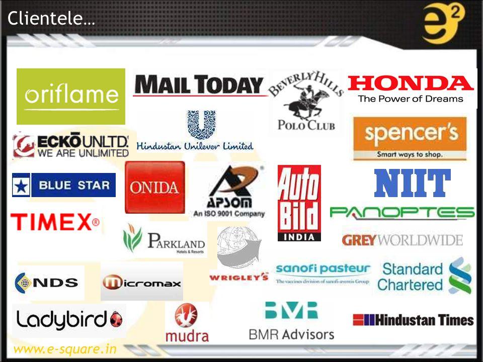 www.e-square.in Clientele …