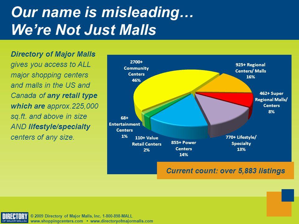 ® 2009 Directory of Major Malls, Inc.
