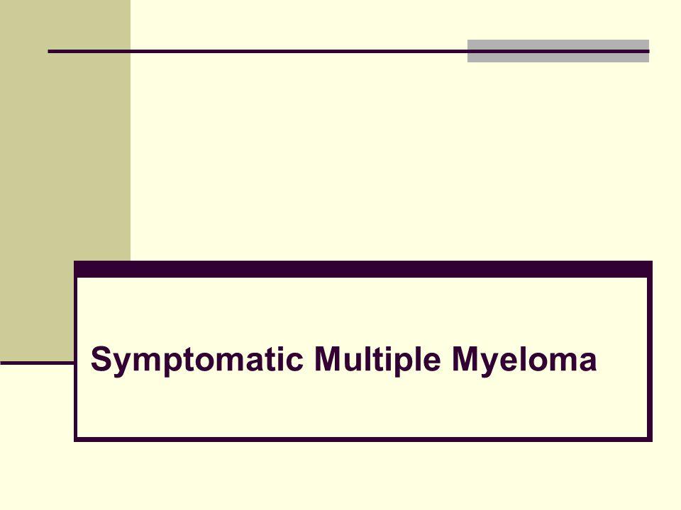 Symptomatic Multiple Myeloma
