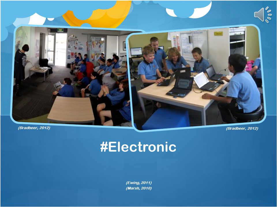 #Electronic Past…Present… (Montrose Primary School, 2014) (Glass, 2013)