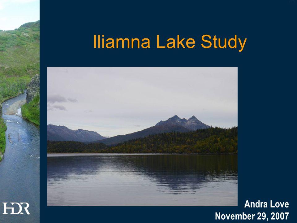 Iliamna Lake Study Andra Love November 29, 2007