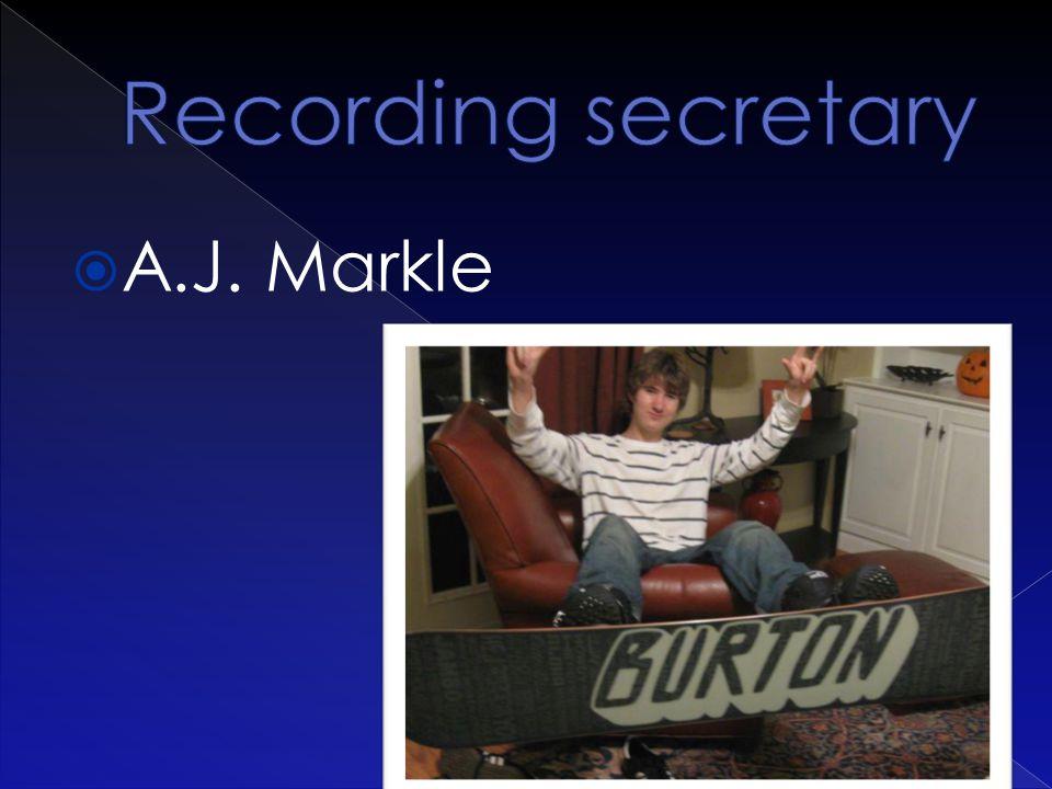  A.J. Markle