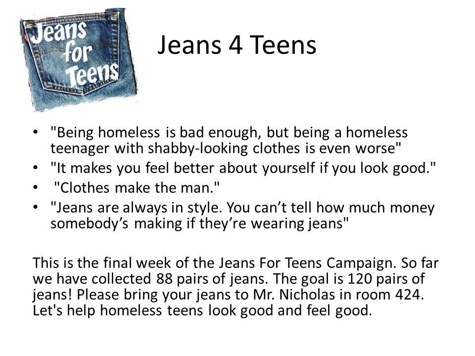 Jeans 4 Teens